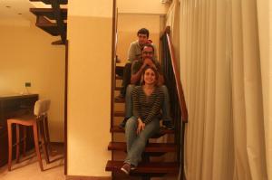 Odadaki merdiven